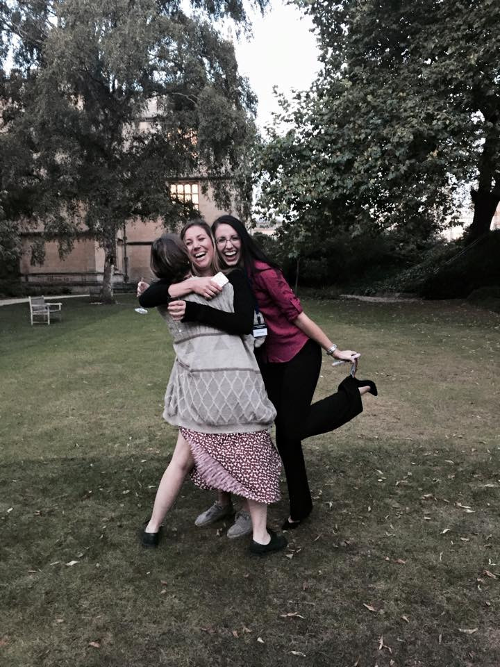 Quality time spent in the garden of Oxford University