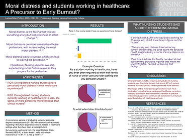 Moral Distress Student_Poster Lilly Conf