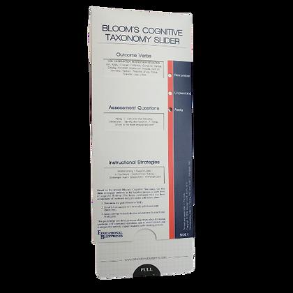 BLOOM'S COGNITIVE TAXONOMY SLIDER