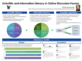 Sci_Info Literacy Online Discussions - F