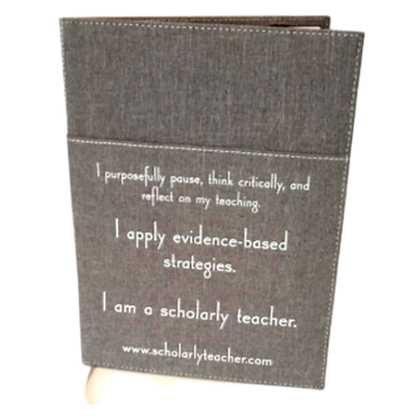 SCHOLARLY TEACHER PADFOLIO