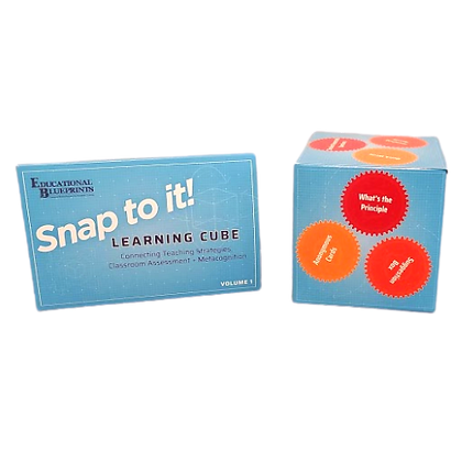 Snap to It! Learning Cube Volume 1