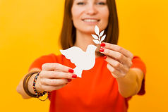 front-view-of-smiley-woman-holding-paper