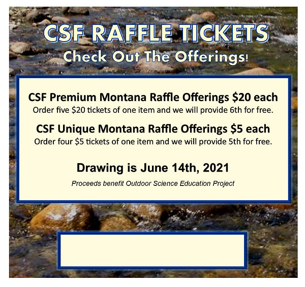 June 2021 Raffle - Our Events - More Inf