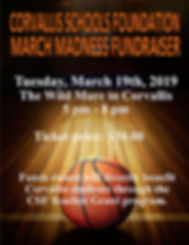 CSF-2019 march madness Website Event pag