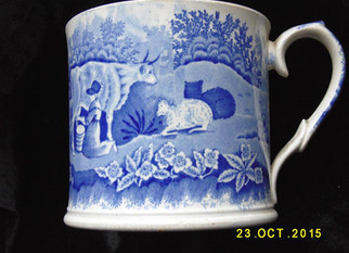 Local Pottery News from local pottery specialist Unit 138 Don pottery 'Milkmaid' mug.