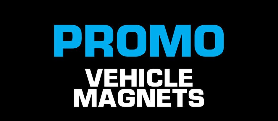 PROMO —Vehicle Magnets