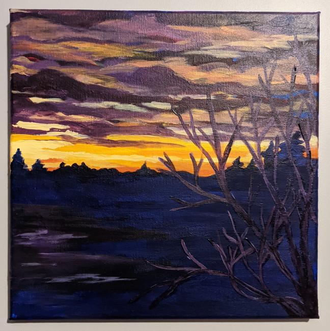 Moody Saskatchewan Sunset