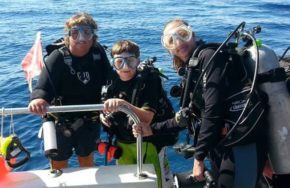 Scuba for kids Ocean Quest