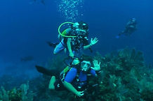 youth scuba diving ocean quest