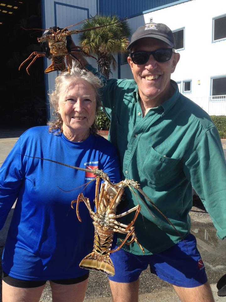 lobster scuba charters