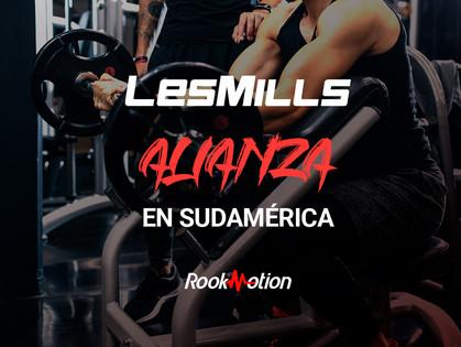 RookMotion llega a Sudamérica de la mano de LesMills