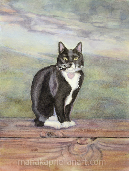 """Jack"" Watercolor 16x12"""