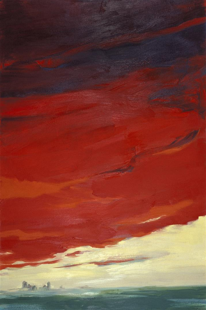 farm red sky