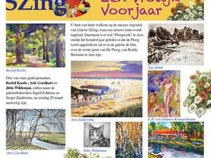 Expo 'Een Vrolijk Voorjaar' Galerie SZing