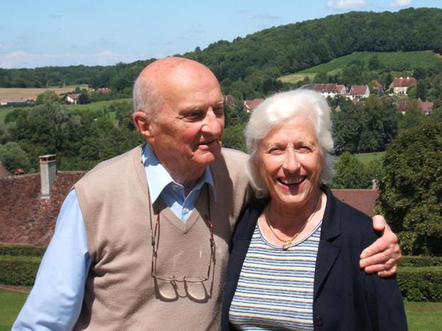 Renault et Anne de Laguiche, parents d'Alain de Laguiche