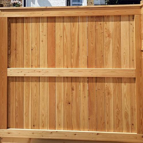 89mm CEDAR fence panel framed