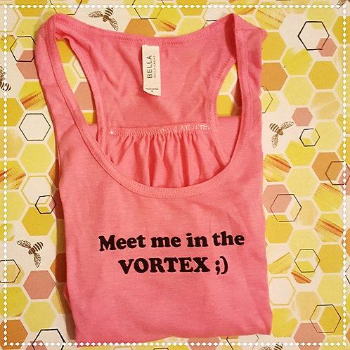 Vortex Pink Flowy Tank