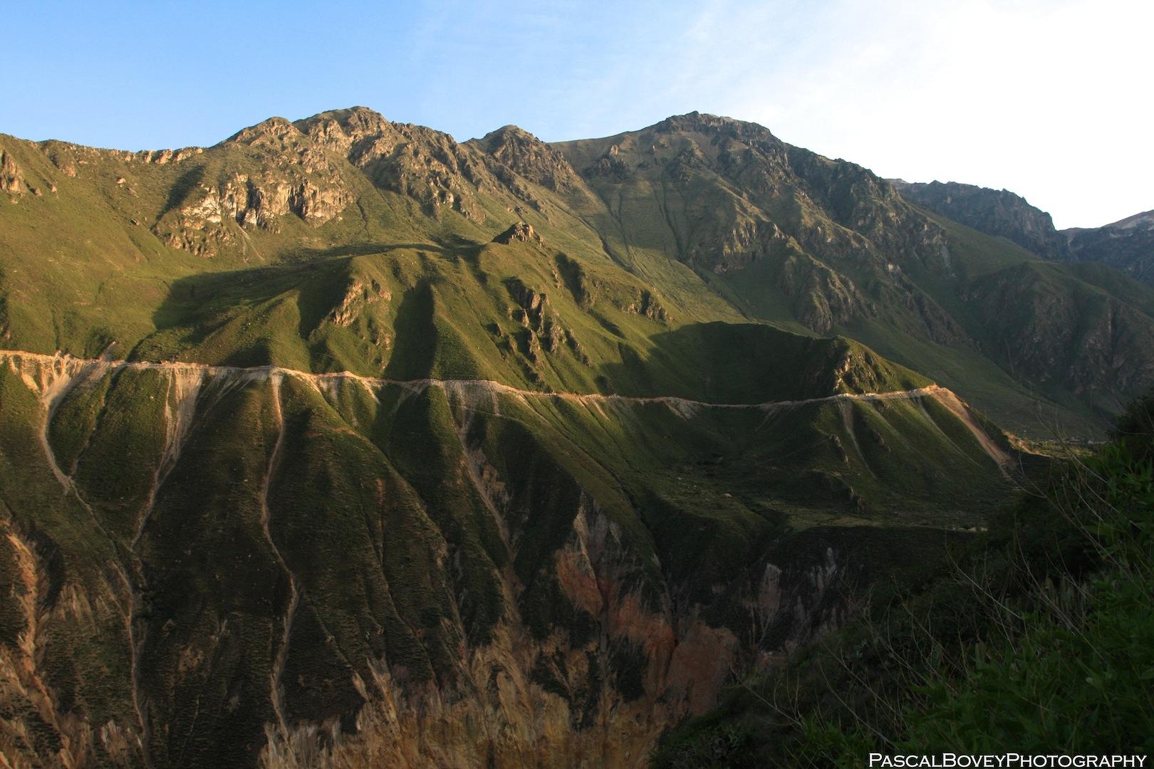 Sunrise in Colca Canyon