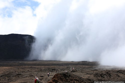 Volcanic curtain
