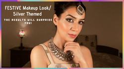 Festive Dewy Makeup Look