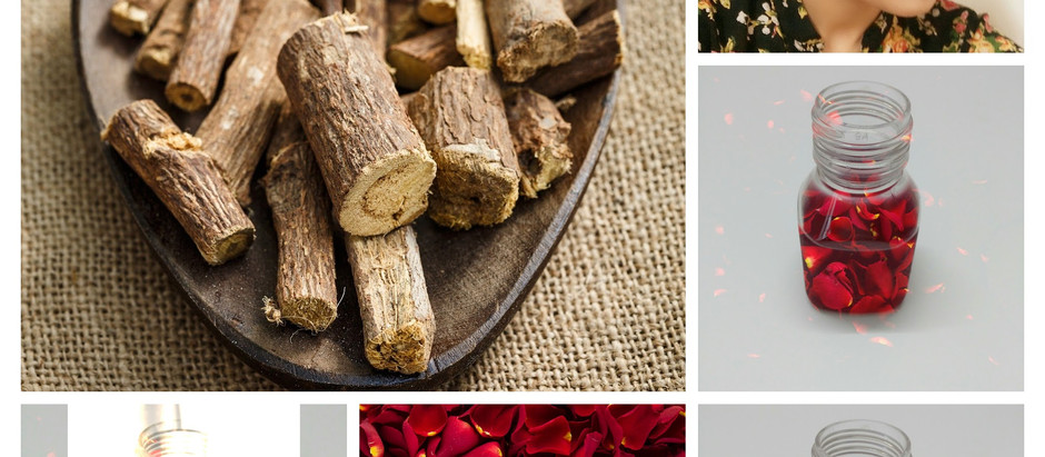 DIY Rose Petal & Licorice Toner