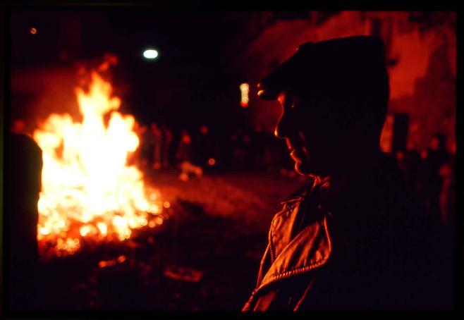 Fires at Madonna fest - Platì - Calabria - Italy