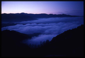 Aspromonte with low clouds - Calabria - Italy