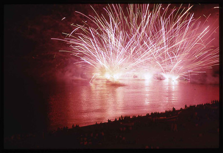 Fireworks at sea - Bagnara Calabra - Calabria - Italy