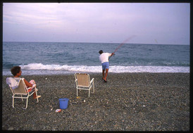 Beach fishing in Gioiosa Jonica - Calabria