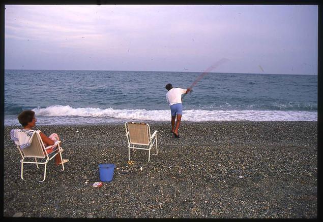 Beach fishing in Gioiosa Jonica - Calabria
