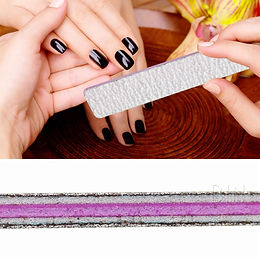 50pcs Square Nail File 80/80 Double Working Sides