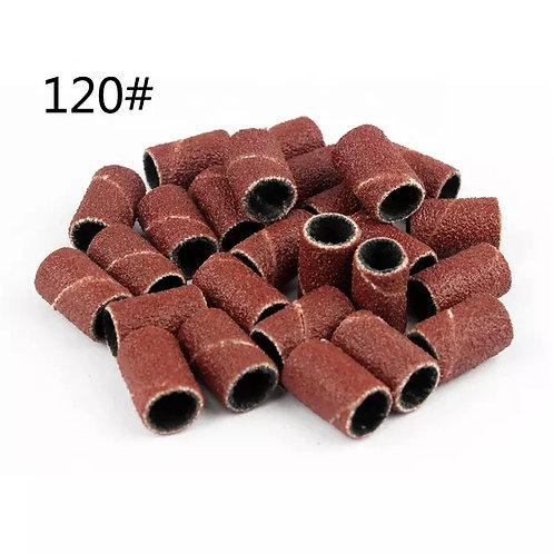 100pcs Nail Drill Sanding Bands Machine Replacement Bits File