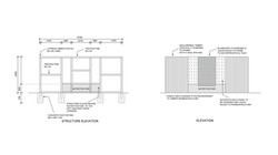Drafting - Outdoor Feature Wall