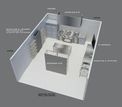 Interior Design - Conversion to Commercial Kitchen