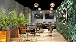 3D Visualisation - Cafe