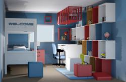 Interior Design - Kids Bedroom