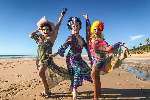 Queens of Drag Terrirtory by ABC Kimberl