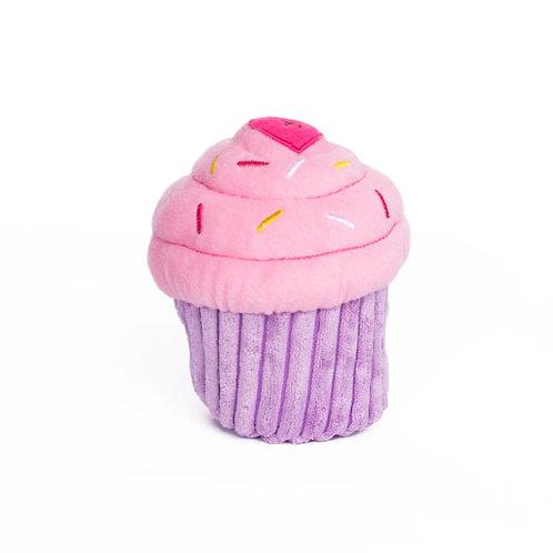 Pink Birthday Pupcake Toy