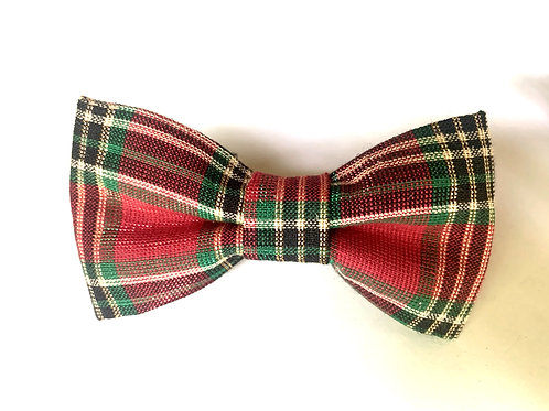 Over the Collar Vintage Holiday Bowtie
