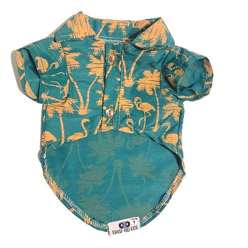 Tropical Collared Shirt