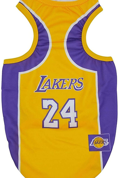 Lakers Dog Jersey