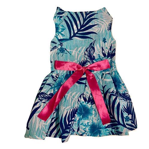 Turquoise Paradise Dress