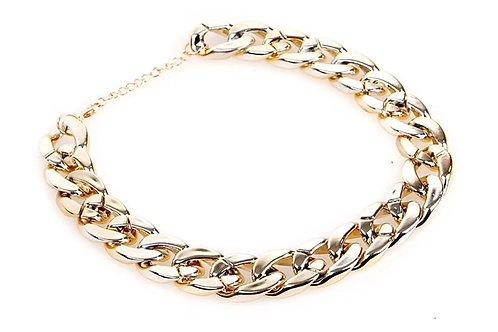 Gold Chain Collar