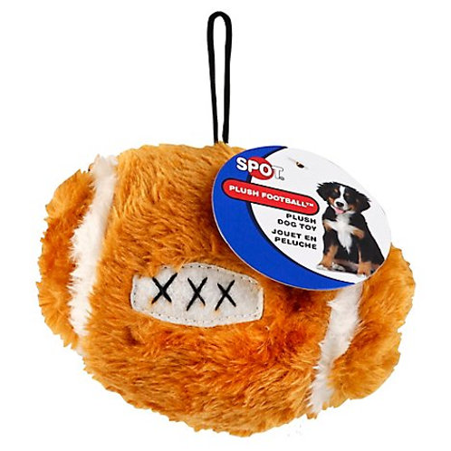 Plush Football Dog Toy