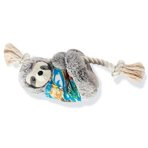 Summer Ready Sloth Dog Toy