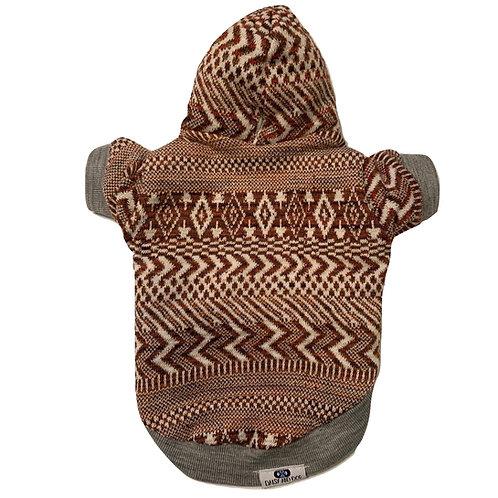 Cozy Terracotta Brown Hoodie