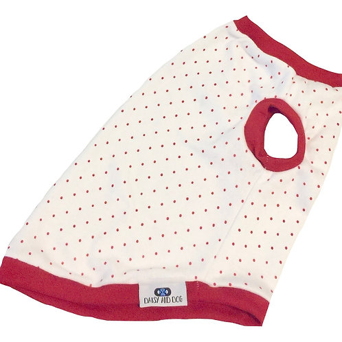 Red Dotted Tank