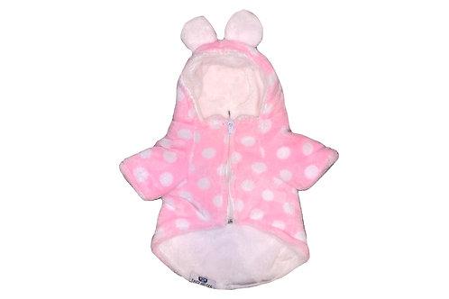 Pink Teddy Hoodie (sz XXL)