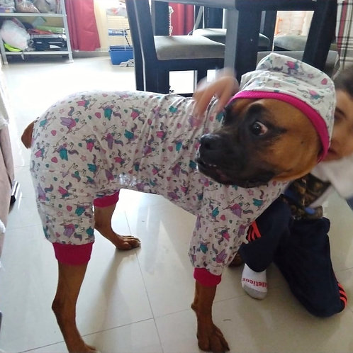 BIG DOG Unicorn Onesie